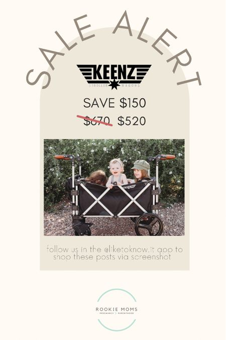 Sale Alert on the best wagon! Save $150    http://liketk.it/3hN8f #liketkit @liketoknow.it #LTKbaby #LTKbump #LTKsalealert @liketoknow.it.family Shop your screenshot of this pic with the LIKEtoKNOW.it shopping app