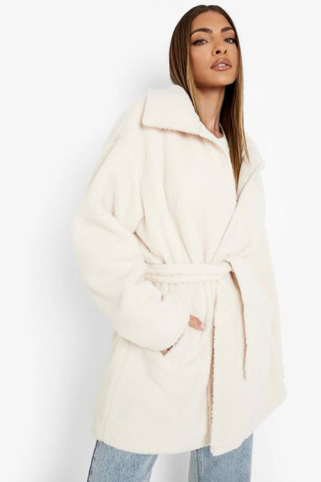 Quilted teddy coat   #LTKstyletip #LTKSeasonal #LTKunder50