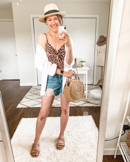 I found a swimsuit I love, and it's under $20! 🙌🏻😍 Seriously Walmart nailed it with this Time and Tru one piece; comfortable, flattering, and the prettiest print. Wearing size medium. I'm sharing a review in Stories if you're interested! I'll include a swipe up to shop. http://liketk.it/3gQLH #liketkit @liketoknow.it #LTKswim #LTKunder50 #walmartfashion #swimsuit