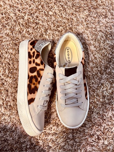 Love me a good sneaker especially if it has glitter and leopard! These sneaks are a must and only $32 perfect gift for her!   #LTKGiftGuide #LTKsalealert #LTKunder50