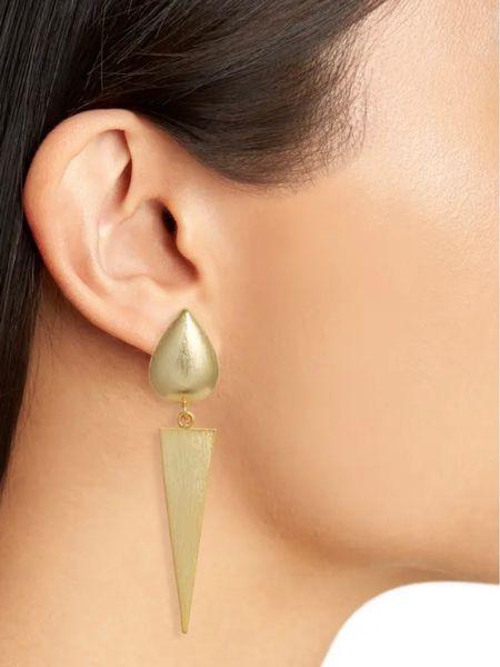 earrings, gold earrings, nordstrom, nordstrom sale, drop earrings, summer earrings, summer looks, wedding guest, styledbyjacinta, jacinta devlin   You can instantly shop my looks by following me on the LIKEtoKNOW.it shopping app @liketoknow.it #liketkit #LTKunder50 #LTKsalealert #LTKstyletip http://liketk.it/3gGsx