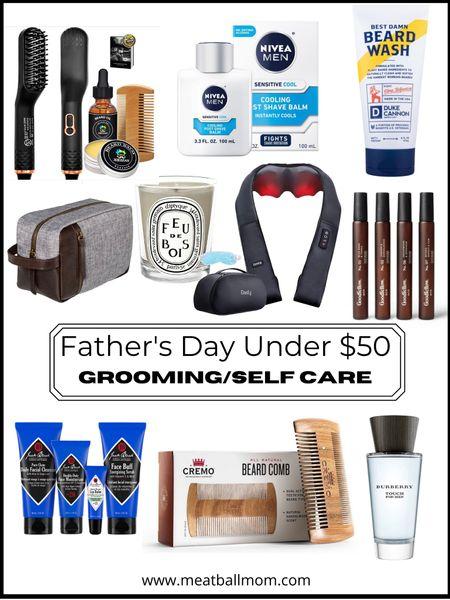 Father's Day gift ideas under $50  : grooming and self care items             Father's Day, Father's Day  gift ideas, gifts for him, gifts for men , target style, target finds, amazon finds, Walmart finds, Nordstrom style #ltkhome #ltktravel #ltkstyletip  #LTKunder50 #LTKbeauty #LTKmens