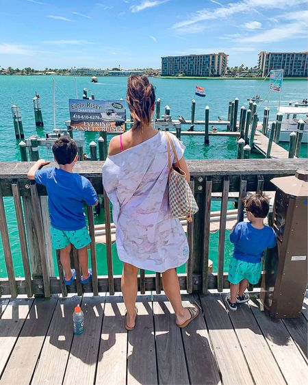 Swimwear for the family! Get your beach bag packed and ready to go y'all! I found the cutest matching family swimsuits! I also linked my hot pink reversible bikini. SO CUTE! 😍 Use code HEATHER40 for 40% off my tote bag 🙌🏼   http://liketk.it/3fJtQ #liketkit @liketoknow.it #LTKsalealert #LTKswim #LTKfamily