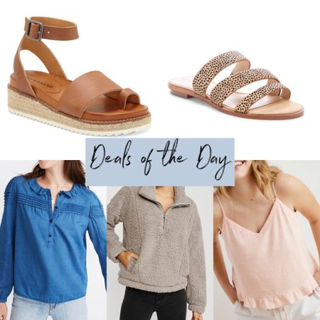 DEALS OF THE DAY 4/28/2020  http://liketk.it/2NPen @liketoknow.it #liketkit   #LTKsalealert #LTKunder50 #StayHomeWithLTK  Shoes, wedges, lucky brand, spring outfits, madewell, Abercrombie, cami, summer outfits