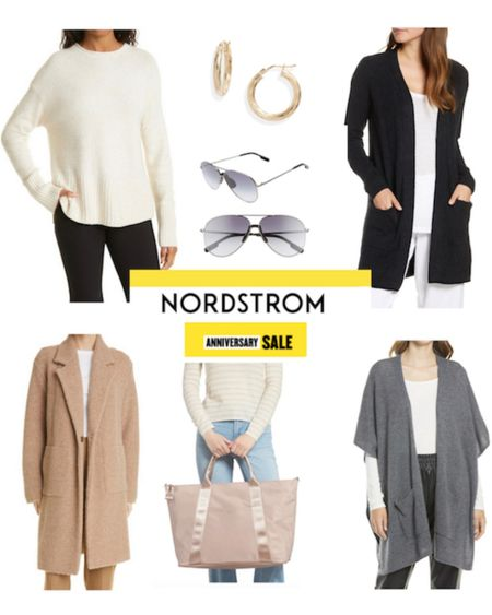 16 fashion favorites and outfit ideas from the Nordstrom Anniversary sale. #nsale Cardigans tote bags sneakers gold hoop earrings cashmere and more http://liketk.it/3k0Rw #liketkit @liketoknow.it   #LTKsalealert #LTKitbag #LTKstyletip
