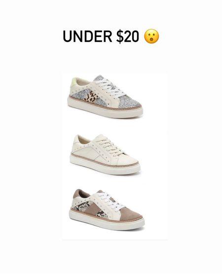 Sneakers, Under $20, daily deals, DSW  #LTKunder50 #LTKshoecrush #LTKsalealert