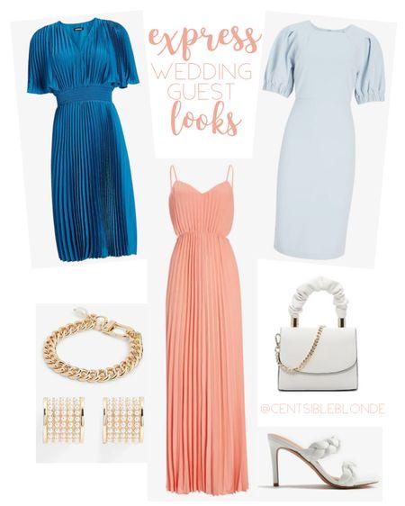 Wedding guest outfit ideas, cocktail attire, spring dresses, work dresses, gold jewelry.   http://liketk.it/3htHm #liketkit @liketoknow.it #LTKworkwear #LTKsalealert #LTKwedding