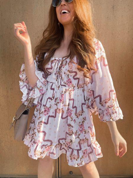 prettiest fall transition dress   #LTKunder100
