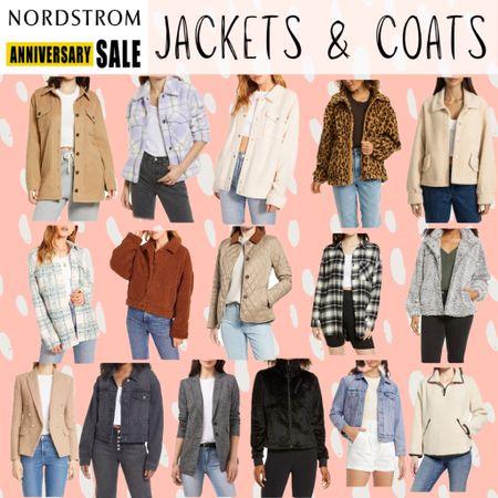 NSale Nordstrom anniversary sale affordable jackets coats outerwear layers  #LTKsalealert #LTKunder50 #LTKunder100