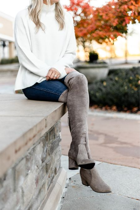 Boot season is officially here and I'm excited to change up my wardrobe. I love that you can totally change up an outfit by switching up the style of boot. Over the Knee, bootie, combat, hiking and so many more styles can effortlessly shift the feel & look of your outfit. Do you have a favorite or go-to style? http://liketk.it/2ZDD9 #liketkit @liketoknow.it #LTKshoecrush #LTKstyletip #LTKunder100 #bootseason #bootstyle #fallboots #winterboots #otkboots #momstyle #bootsformom #bootsforfall