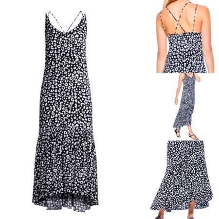 I just ordered this cute Summer dress in size large. Love the pretty strap detail and the flounce hem line. I know it's one I'll wear a lot! Comfortable and pretty throw on and go! ☀️ #LTKunder50 #LTKstyletip #LTKcurves @liketoknow.it http://liketk.it/2R0yx #liketkit