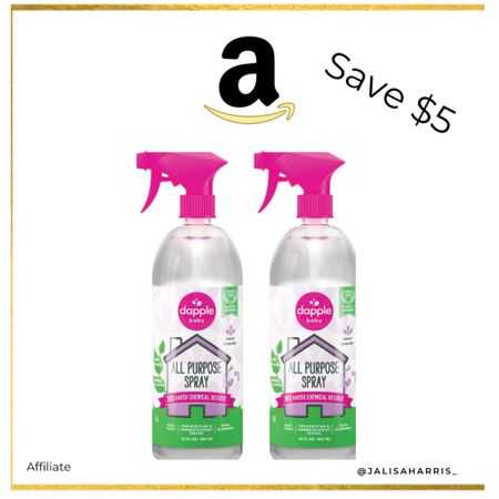 Save $5 off Dapple Baby Non Toxic Baby Friendly Cleaner   #LTKhome #LTKbaby #LTKfamily