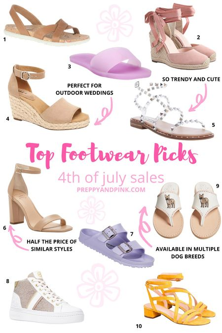 Shoe sale. Sandals. Studded sandals. Wedges. Heels. Sam Edelman. Jack Rogers. Jelly sandals. Beach shoes. Birkenstock's. JCrew shoes.   #LTKshoecrush #LTKsalealert #LTKSeasonal