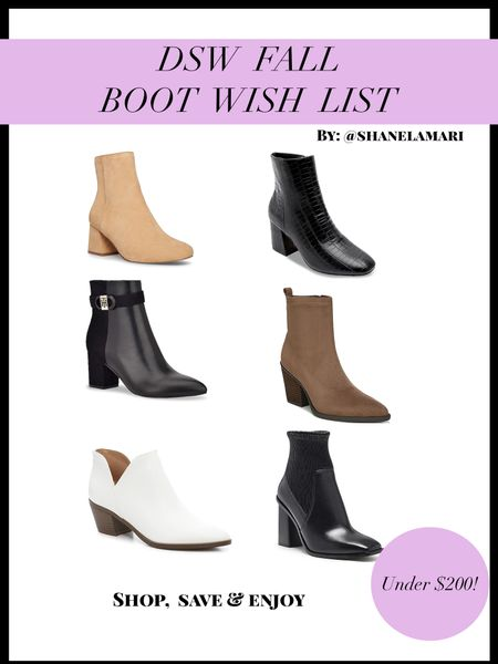 Fall boots are a must have, especially ankle boots!   #LTKshoecrush #LTKstyletip #LTKFall