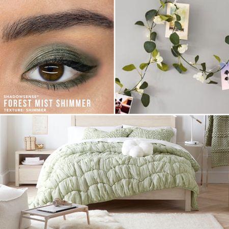 "Fall Green Green decor  Eye shadow available on GracefulGlamByDanielle.com - click ""shop makeup"" or email me at GracefulGlamByDanielle@gmail.com    #LTKhome #LTKstyletip #LTKbeauty"