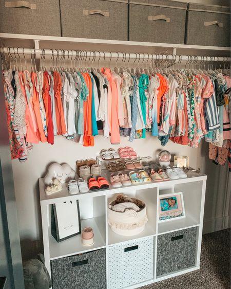 Nursery closet. Home decor. Home organization. Toddler room. Toddler closet. Toddler fashion. Toddler shoes. Shoe display. Storage bins. Storage baskets. Nursery decor. Cube organizer. Target home. Kids room. @liketoknow.it @liketoknow.it.home @liketoknow.it.family http://liketk.it/3i6z1 #liketkit #LTKbaby #LTKfamily #LTKhome