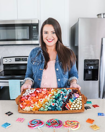 Candy is my favorite! Candy board, food board, serving tray, easy entertaining, charcuterie board. http://liketk.it/3d5hR #liketkit @liketoknow.it #LTKhome #LTKunder50 #LTKsalealert @liketoknow.it.home Shop your screenshot of this pic with the LIKEtoKNOW.it shopping app