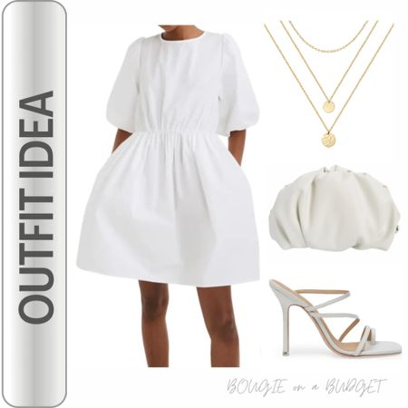 All white look. Bridal look.   http://liketk.it/3fvjL #liketkit @liketoknow.it #LTKstyletip #LTKunder50 #LTKshoecrush