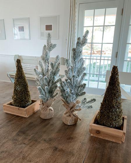 Target Christmas decor, Christmas trees $5-$10, flocked Christmas tree, small Christmas trees, holiday decor, holiday decorations, target home Shop my daily looks by following me on the LIKEtoKNOW.it shopping app http://liketk.it/31FN7   #liketkit @liketoknow.it #LTKgiftspo #LTKhome #LTKfamily #ltkunder50 #stayhomewithltk