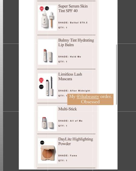 Loving these ilia products for summer! @liketoknow.it #liketkit http://liketk.it/3hrIu #LTKbeauty #LTKunder100