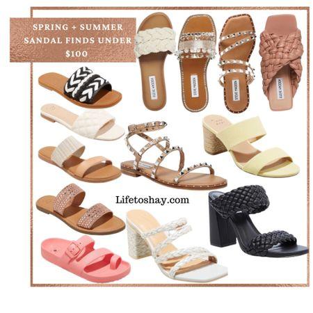 Shop my favorite spring and summer sandals! All under $100!   #LTKunder100 #LTKshoecrush #LTKtravel