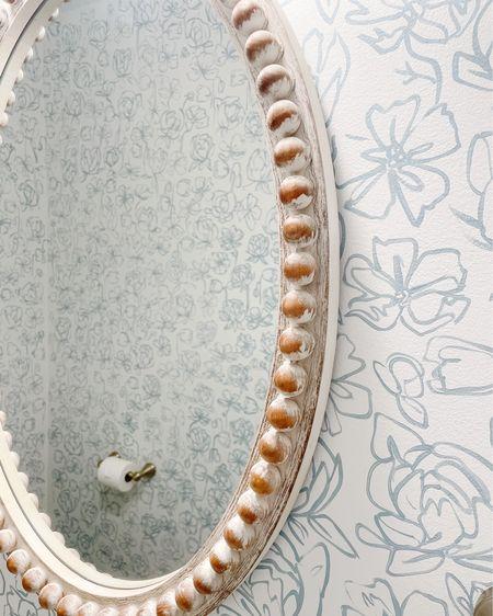 Our half bath mirror is so pretty and under $100! http://liketk.it/3iGzf #liketkit @liketoknow.it