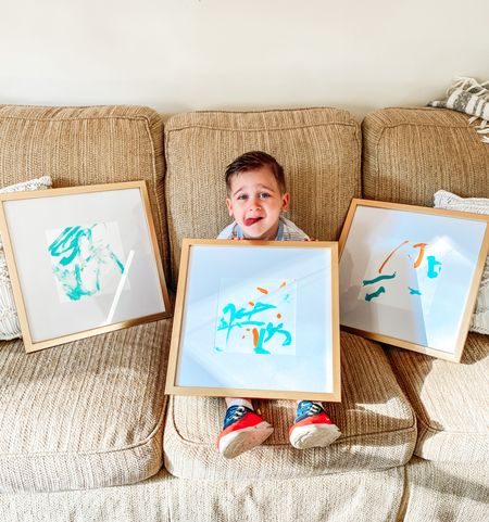 DIY toddler decor! These frames are perfect and SO affordable!   #LTKfamily #LTKhome #LTKunder50