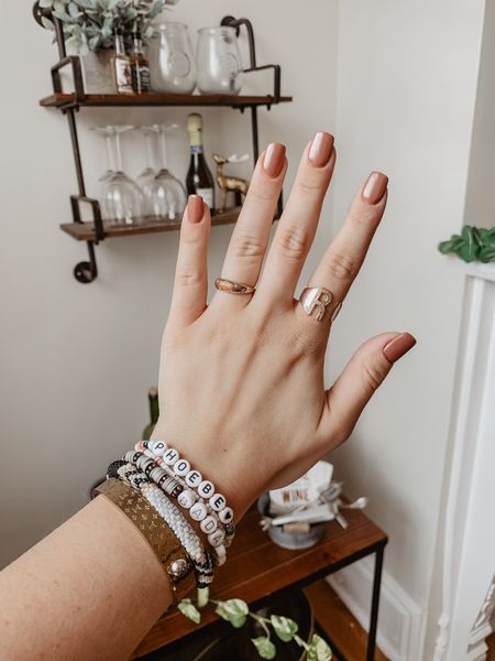 Fresh mani! & my everyday jewelry pieces!  #LTKbeauty #LTKunder100 #LTKstyletip