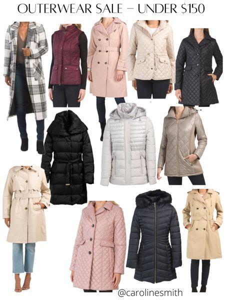 Marshall's Outerwear Sale - all under $150! Puffer Jacket  Kate Spade , Laundry , Tahari     #LTKSeasonal #LTKsalealert #LTKHoliday