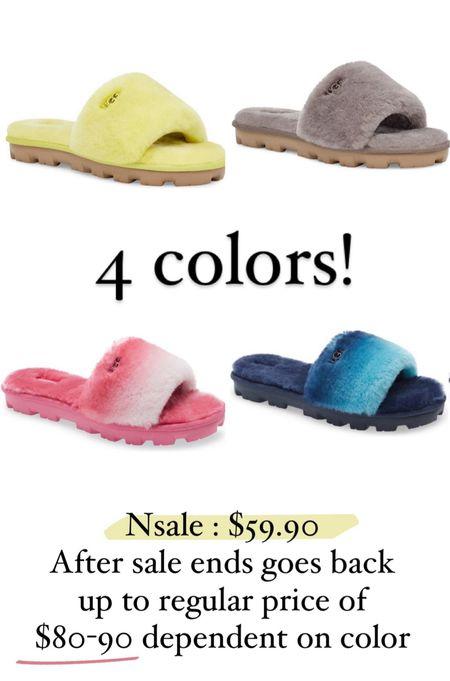 Ugg slipper sandal tts  #LTKsalealert #LTKunder100 #LTKshoecrush