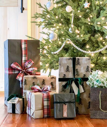 Gift wrap inspo.   #LTKfamily #LTKhome #LTKgiftspo