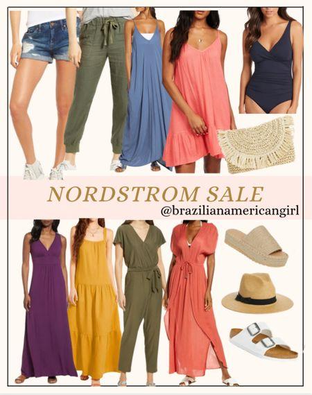 Nordstrom Sale  #nordstrom #nordstromsale #dresses #dress #sandals #swimsuits  #jumpsuits #vacationoutfits #beachvacation #springoutfits #summerfashion #springdresses #springdress   #LTKsalealert #LTKtravel #LTKunder50