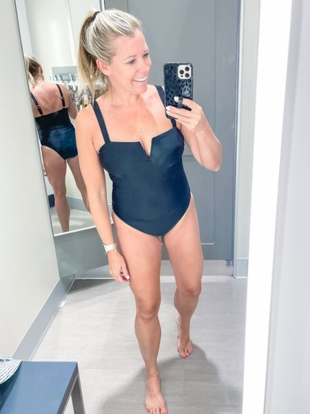 Love the black target one piece which reminds me of L Space. In the small with good belly compression. Swim swimsuit target style   #LTKswim #LTKSeasonal #LTKtravel