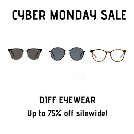 Favorite DIFF Eyewear sunnies and glasses on sale for Cyber Monday! http://liketk.it/32GBn #liketkit @liketoknow.it #LTKgiftspo #LTKsalealert #LTKunder100