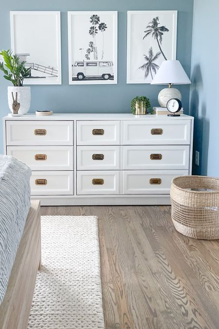 Just stocked up on my favorite white paint ever…Chantilly Lace by BM. It was perfect to spruce up this FB marketplace dresser and now I'm planning to use it for my next project in this room. Any guesses what it is??? . . . . .   #LTKfamily #LTKkids #LTKhome
