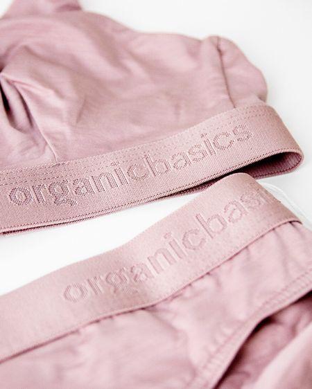Close up 😍 Organic Basics Tencel Lite in Dusty Rose. http://liketk.it/3aLem #liketkit @liketoknow.it #StayHomeWithLTK #LTKhome #LTKstyletip @liketoknow.it.home