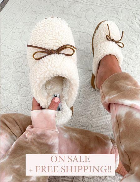 Nsale slippers size 7 Tie dye lounge set size xs  #laurabeverlin #pajamas #nordstrom  #LTKsalealert #LTKunder50 #LTKunder100