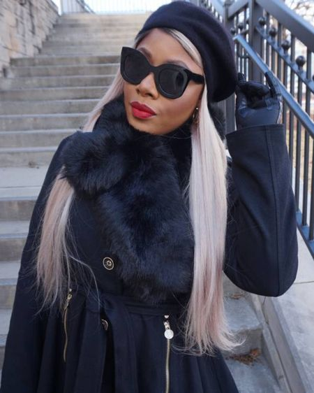 """This is one of my favorite looks to pull together during the frigid winter months!! Warm, """"Bad & Boujee""""! http://liketk.it/33nrs #liketkit @liketoknow.it Shop your screenshot of this pic with the LIKEtoKNOW.it shopping app"""