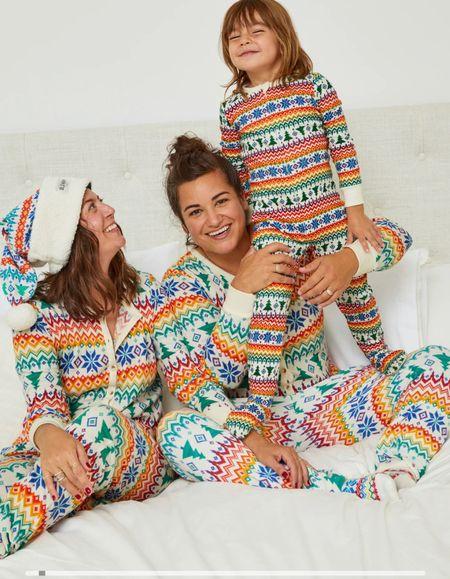 The cutest fair isle pajama sets!!
