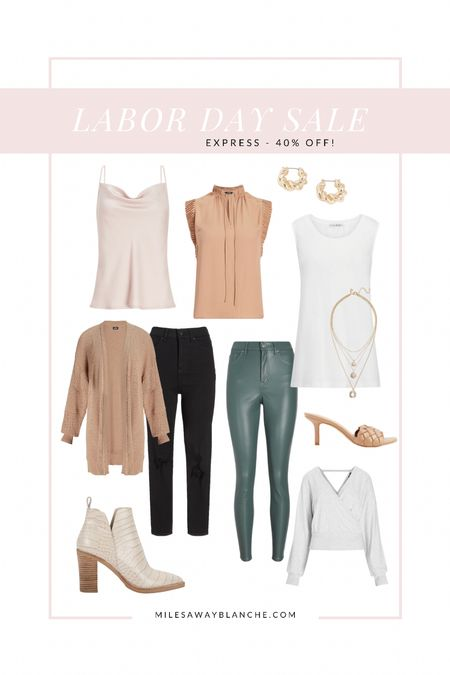 Express 40% off Labor Day sale! Love the fall neutral tones!   #LTKsalealert #LTKunder100 #LTKworkwear