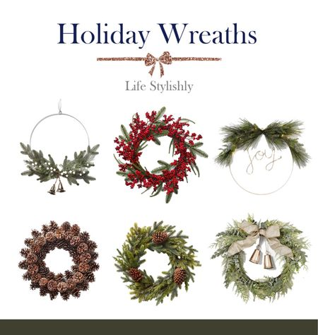 The most affordable holiday wreaths this season.   #LTKhome