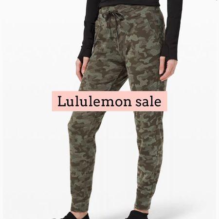 Lululemon joggers on sale   #LTKsalealert #LTKfit #LTKunder100
