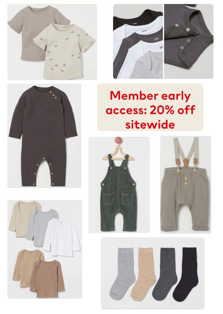 20% off member sale! Just make a free account log in and you can shop the sale. Tons of kids basics for fall and winter   #LTKbacktoschool #LTKkids #LTKsalealert