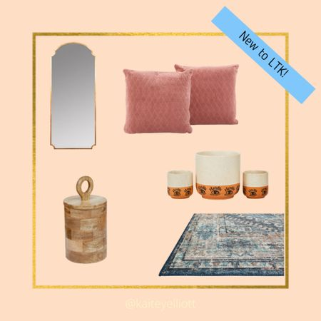 Okoa Home by Cara Loren is AMAZING! While I don't have my own space right now, these are what I would decorate with if I did! 😍 The mirror and rug are my fav!   #LTKsalealert #LTKfamily #LTKhome