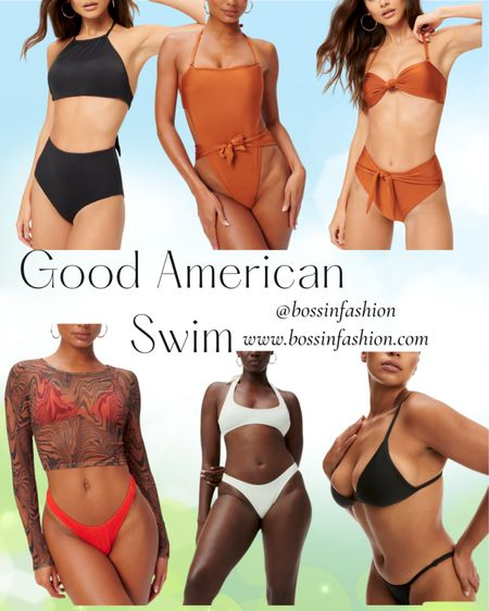 Khalid K was right! Good American is for all curves. Their swim is amazing! Shop my favorite picks! I love them two pieces and their one piece swimsuits. You can instantly shop all of my looks by following me on the LIKEtoKNOW.it shopping app! #goodamerican #goodamericanswim #swim #swimsuit #twopiece #onepiece #bikini #LTKstyletip #LTKswim http://liketk.it/3gDeG #liketkit @liketoknow.it