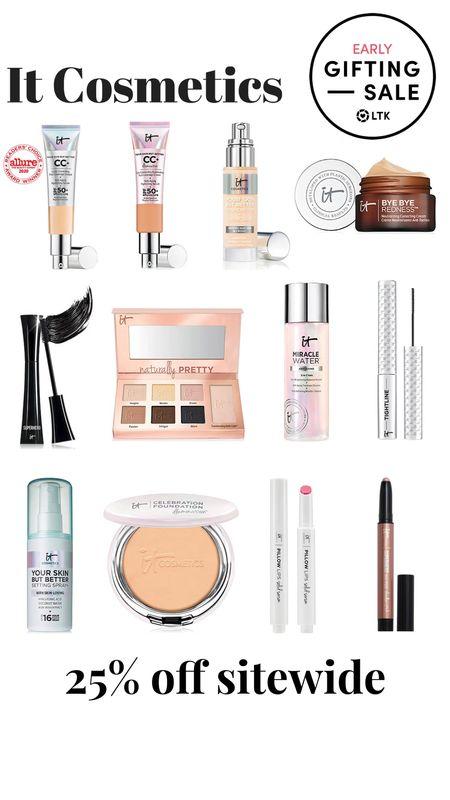 It Cosmetics 25% off sitewide  Early gifting sale  #LTKsalealert #LTKbeauty #LTKSale