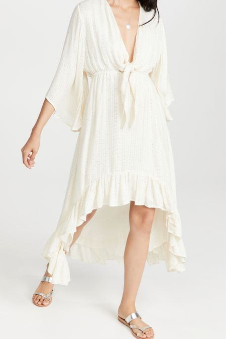 Obsessed with this cover-up. Sundress. Summer white. White dress. Summer dress. Maxi dress. Midi dress. Beach cover-up. White summer dress. Vacation outfit. Beach outfit.   #LTKtravel #LTKstyletip #LTKwedding