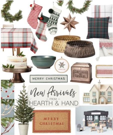 New arrivals for Hearth and Hand Christmas #justpostedblog  Holidays  Home decor  Christmas   #LTKHoliday #LTKSeasonal #LTKhome