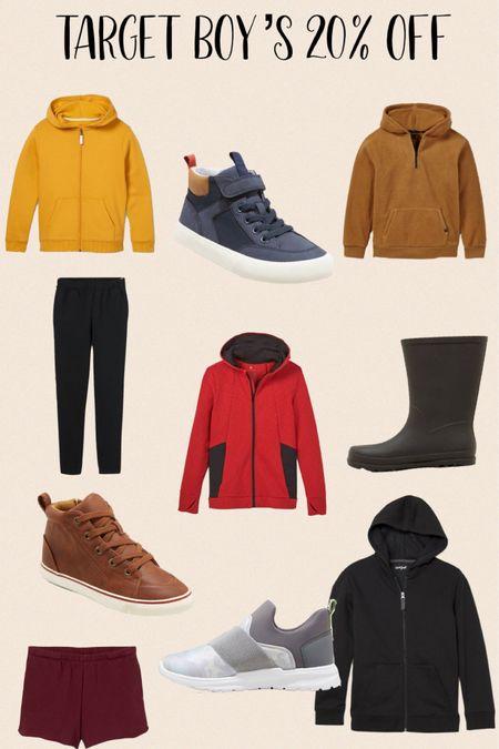 Target boys fleece + shoes are 20% off !   #LTKsalealert #LTKSeasonal #LTKkids