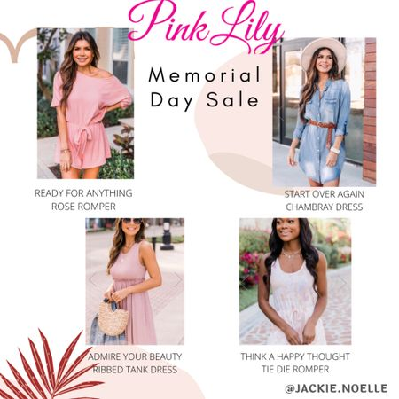 I am loving these pink lily finds! On sale for Memorial Day!! You can instantly shop all of my looks by following me on the LIKEtoKNOW.it shopping app @liketoknow.it #liketkit #LTKunder100 #LTKstyletip #LTKsalealert http://liketk.it/3gx75